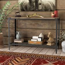 Living Room Wall Table Thin Console Table Wayfair