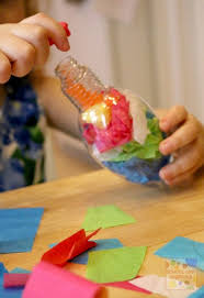 simple tissue paper ornament school time snippets