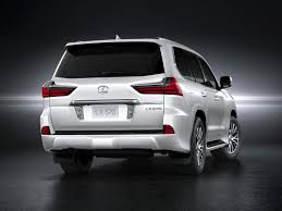 lexus suv 2016 colors 2016 lexus lx 570 styles u0026 features highlights