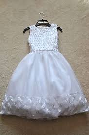american princess girls u0027 white basket weave party pageant flower