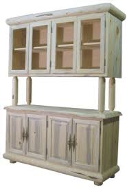 Free Diy Log Furniture Plans by Diy Log And Slab Rustic China Closet