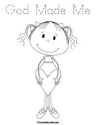 parts of the body coloring pages for preschool the 25 best god made me ideas on pinterest sunday crafts