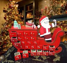 lighted santa s workshop advent calendar attractive joyful christmas advent calendar patterns home designing