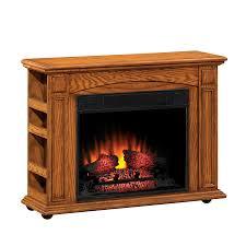 shop style selections 37 in w 4 600 btu premium oak wood and metal