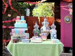 how to decorate birthday table simple diy birthday party table decoration ideas youtube