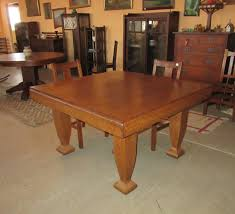 dining table with 48 in square top phil taylor antiques