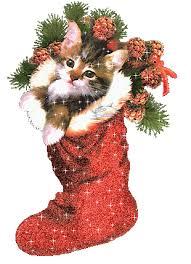 christmas glitter greeting card christmas vintage