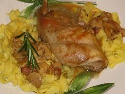 cuisiner le lapin en sauce lapin en sauce à ma façon recettes pour mes enfants