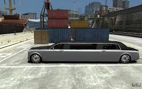 roll royce gta rolls royce phantom sapphire limousine v 1 2 для gta 4