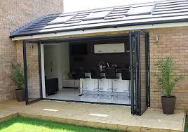 Aluminium Folding Patio Doors Sunflex Sf75 Aluminium Bi Fold Door Idsystems