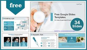 doctor with stethoscope google slides themes u0026 powerpoint template
