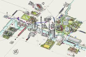 london 2012 olympic venues map london u2022 mappery