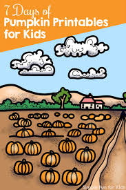 kids and pumpkins emergent reader coloring pages simple fun for kids