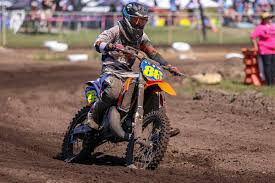 85cc motocross racing ktm tops manufacturer championships at aussie motocross titles