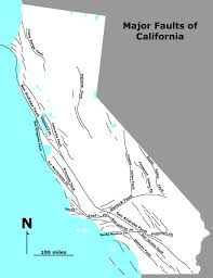 Fault Line Map California Fault Lines Map My Blog