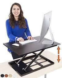 sit and stand desk converter standing desk x elite pro height adjustable desk converter size