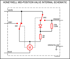 how the y plan mid position three port motorised valve works