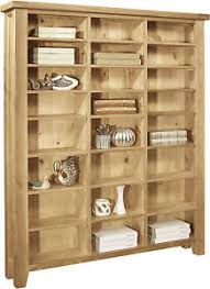 Media Storage Cabinet Lyon Solid Oak Furniture Large Cd Dvd Media Storage Cabinet Rack