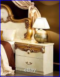 barocco bedroom set barocco luxury glossy ivory gold king bedroom set 5 classic made