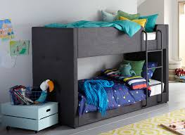 Willow Grey Fabric Bunk Bed Dreams - Images bunk beds