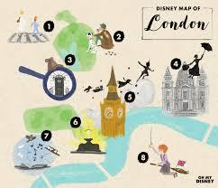 Disney Maps The Disney Map Of London Oh My Disney