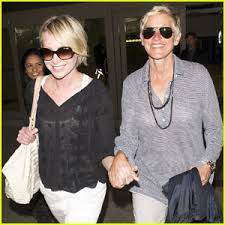 portia s ellen degeneres check out portia s new tattoo ellen degeneres