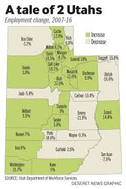 Map Of Counties In Utah by The Monumental Battle Over The West Deseret News