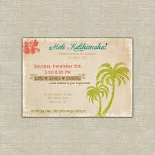 printable hawaiian christmas party invitation mele kalikimaka