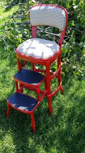 Painted Metal Vintage Cosco High Chair Vintage Diana Before And After Vintage Metal Step Stool Diy