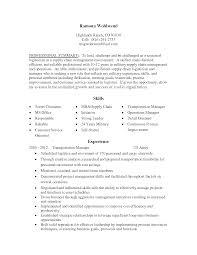 Logistics Resume Summary Sharepoint Project Manager Resume Free Resume Example And
