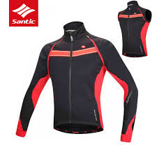 windproof cycling jackets mens santic mens winter cycling jacket removable sleeve cycling windcoat
