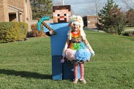 Steve Halloween Costume Minecraft Candy Queen Steve Minecraft Occasions Holidays