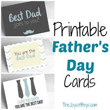 printable s day cards the joys of boys
