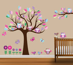 Tree Decals Nursery Wall by Custom Tree Decal Nursery Wall Stickers Flowers By Nurserydecals