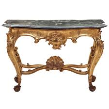 Italian Console Table Italian 19th Century Giltwood Console Table At 1stdibs