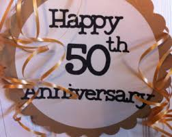 50th Anniversary Decorations Personalized Birthday Banners Crafts And Party Fun By Frombeths