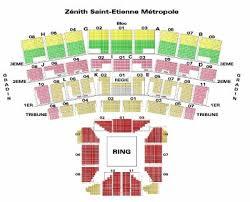 zenith plan salle plan de salle etienne de shows en