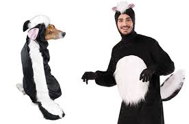Skunk Halloween Costumes 10 Halloween Couple Costumes Dog