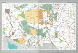 New Mexico State Map by The National Atlas Of The United States Of America Perry
