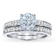 Jared Wedding Rings by Diamond Bridal Setting 1 3 Ct Tw Round Cut 14k White Gold Jared