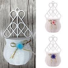 sellify zs654pink handmade flower basket modern design plastic