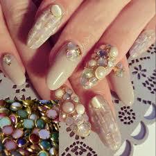 Nail Decorations Aliexpress Com Buy 500pcs Nail Art Decorations Mixed Color Pearl