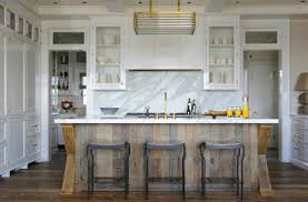 wood island kitchen weathered wood island kitchens