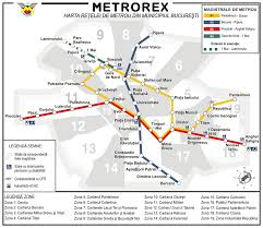 Red Line Metro Map by Bucharest Metro Map Romania