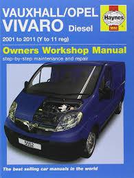 vauxhall opel vivaro diesel 2001 2011 haynes service and repair