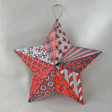ornaments 3d paper ornaments zentangle