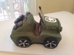 jeep cake topper plumeria cake studio july 2013