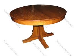 Antique Round Oak Pedestal Dining Table Antique L U0026jg Stickley Pedestal Dining Table W2685 Joenevo