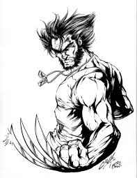 wolverine 7 superheroes u2013 printable coloring pages