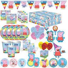 peppa pig birthday supplies peppa pig happy birthday party supplies tableware balloons